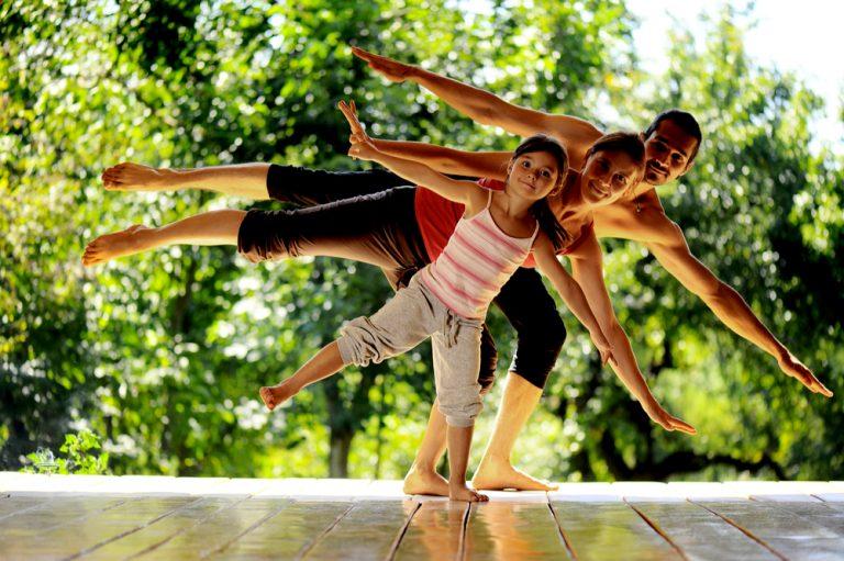 Sichere & gesunde Aktivitäten für die ganze Familie in Zeiten von Lockdowns– Geist und Körper in Balance